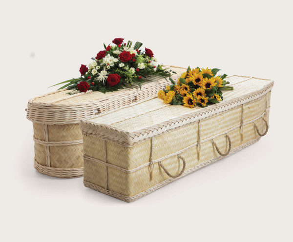 Bamboo Coffin Traditional and Curved