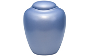 Biodegradable Urn Blue